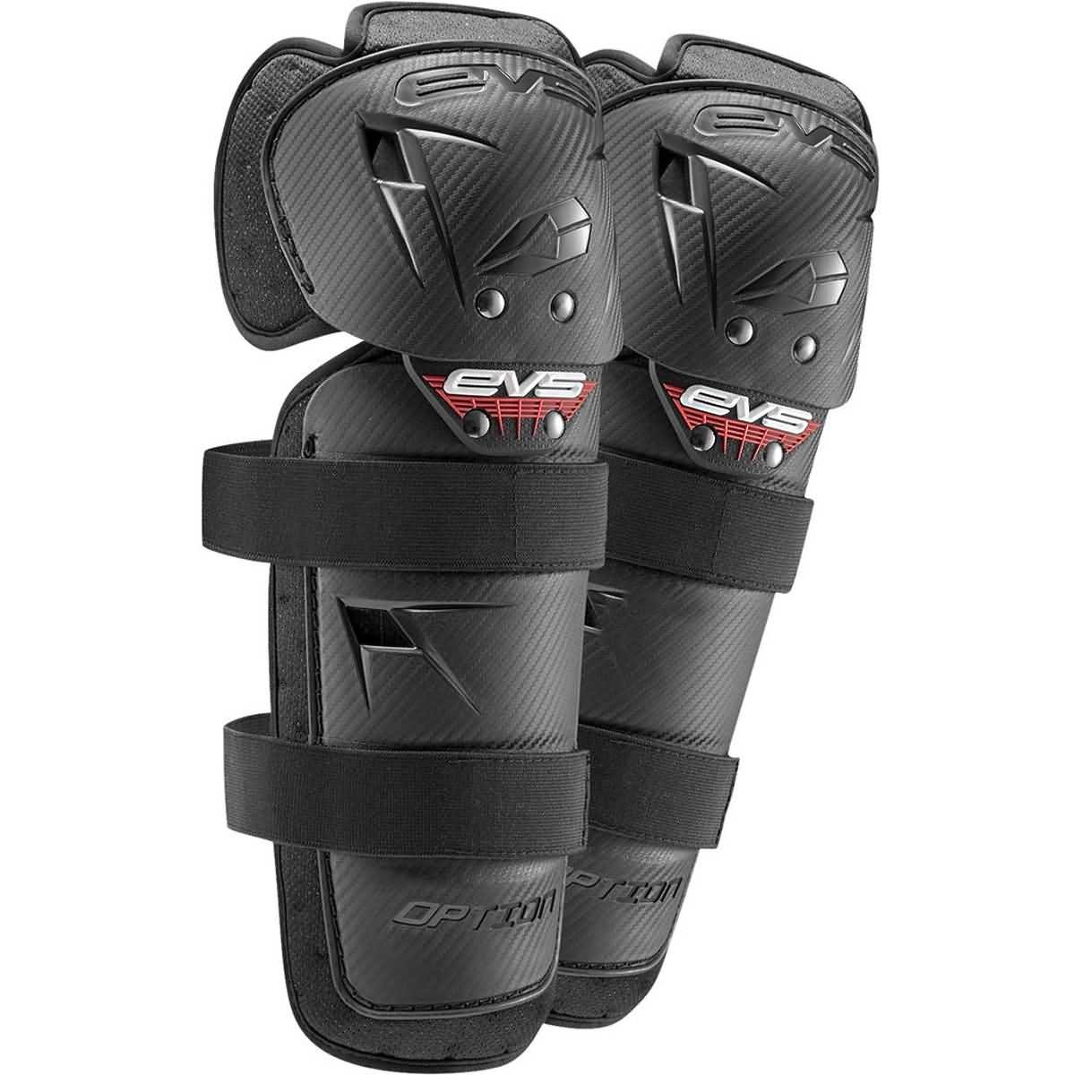 EVS 2016 Option Mini Knee Guard Off-Road Motorcycle Body Armor - Black/One Size by EVS Sports (Image #1)