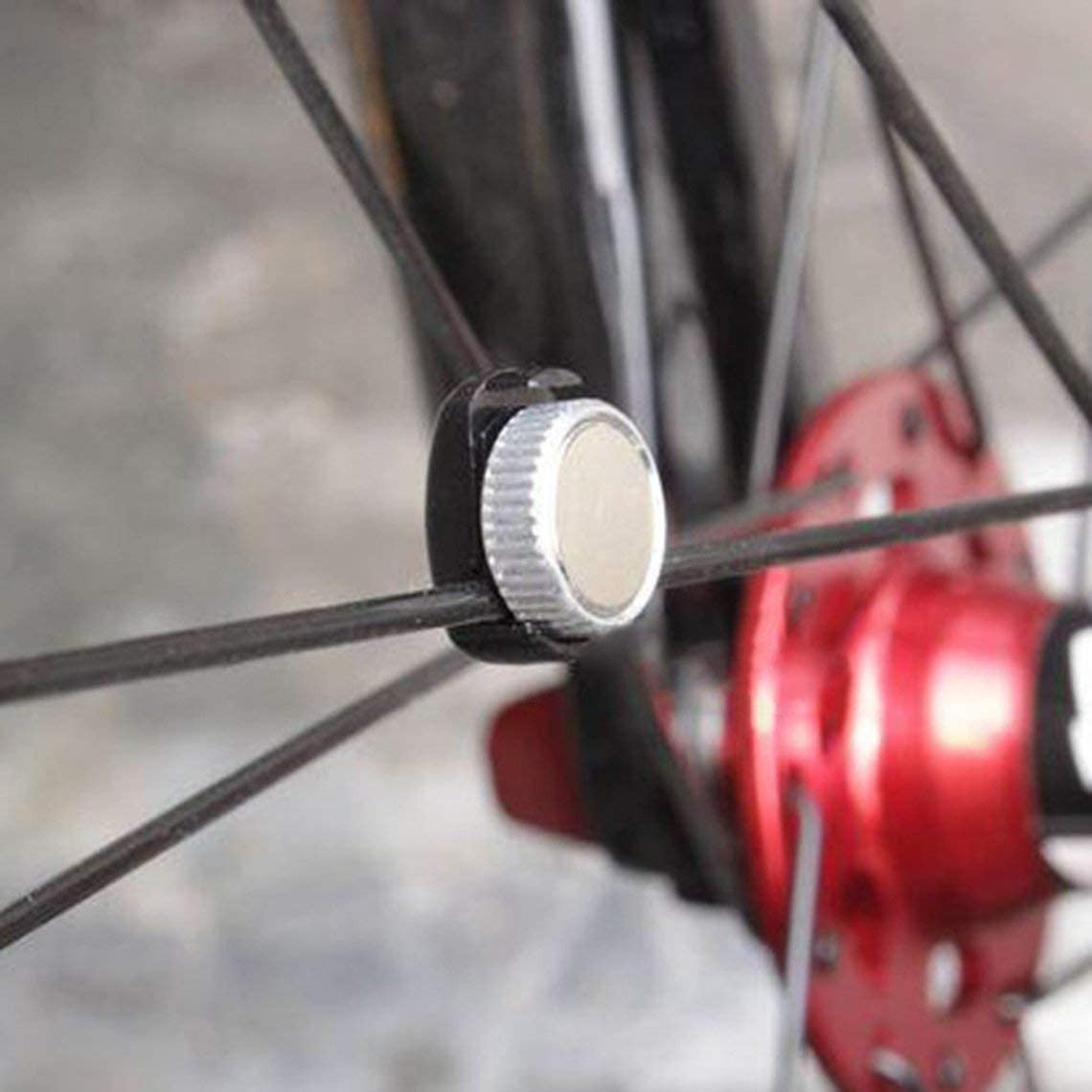 Zinniaya Velocímetro Universal imán para Bicicleta Bicicleta ...