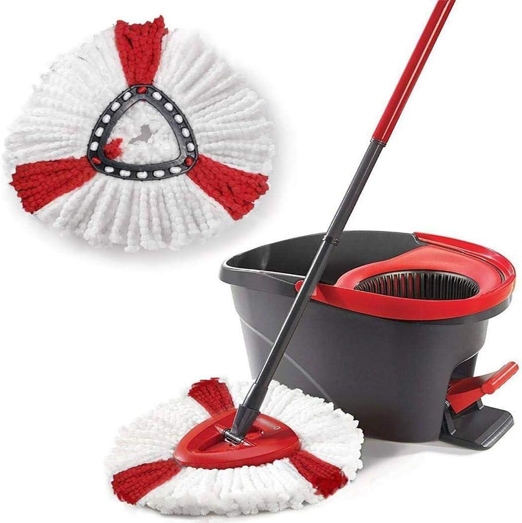 Fandazzie 1pc Durable Lavable Soft Spin Mop Recambio Inicio Mop Head Fregonas