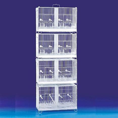 Mcage Combo: Jaula de cría de pájaros con separadores extraíbles y ...