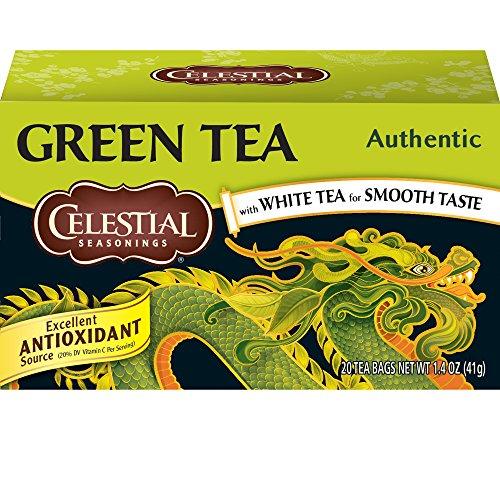 9. Celestial Seasonings – Green Tea
