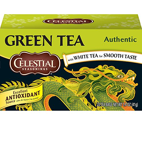 Celestial Seasonings Authentic Green Tea, 20 ct