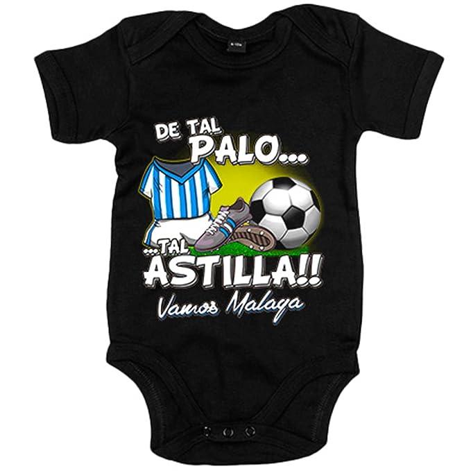 Body bebé De tal palo tal astilla Málaga fútbol - Azul Royal, 6-12 ...