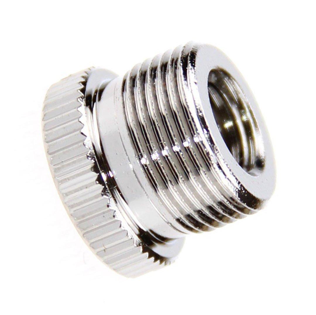 Zhiyou 5//8 macho a 3//8 adaptador de rosca hembra del tornillo por un pie de micr/ófono