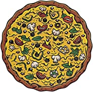 Pizza Puzzles: Veggie Supreme - A Challenging & Cooperative 550-piece Jigsaw Pu
