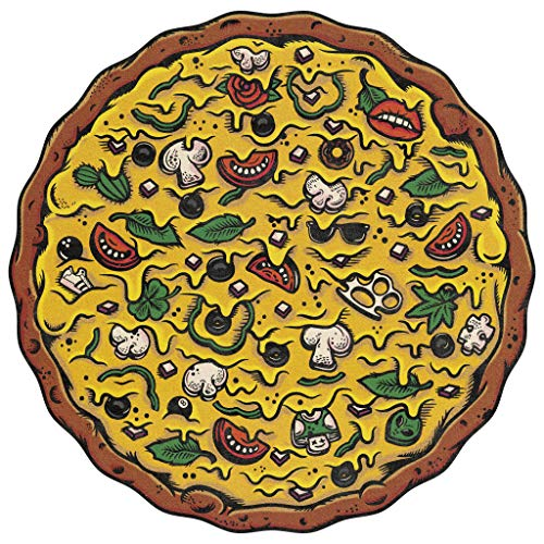 Pizza Puzzles: Veggie Supreme - A Challenging & Cooperative 550-piece Jigsaw Puzzle