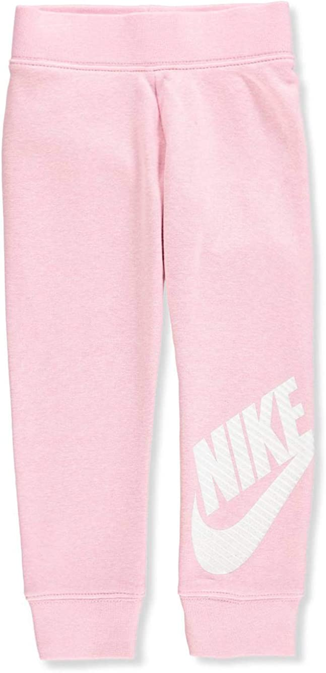 Nike Kids Baby Girls Sportswear Futura Fleece Jogger Toddler