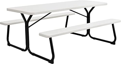 6' Plastic Picnic Table