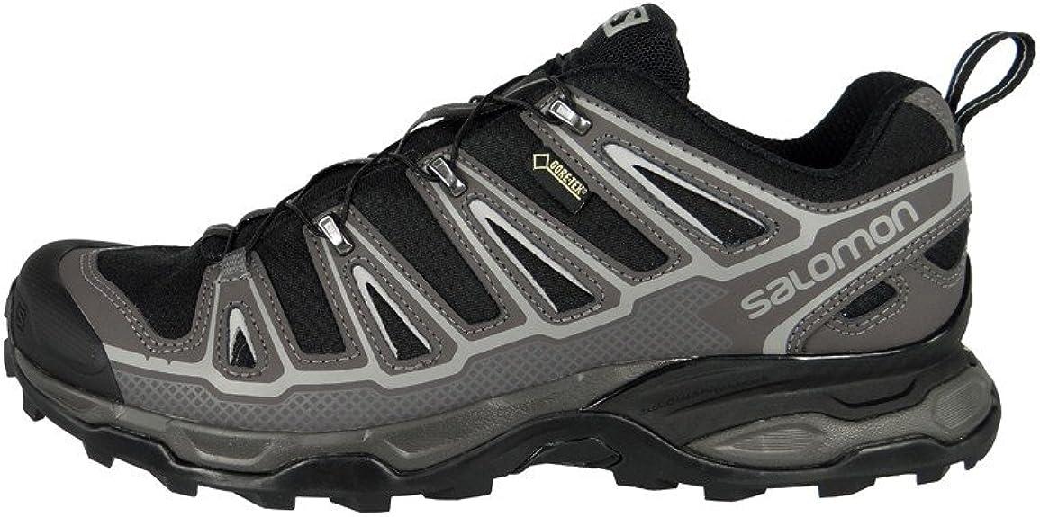 Salomon Zapatos X Ultra GTX Gore-Tex Senderismo Trail Running Shoes 309083 autopista Negro Detroit Rojo Brillante, Salomon Schuhe Herren:43 1/3: Amazon.es: Zapatos y complementos