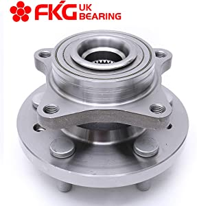 FKG 515067 Front Wheel Bearing Hub Assembly fit for 2005-2009 Land Rover LR3, 2010-2016 Land Rover LR4, 2006-2013 Land Rover Range Rover Sport, 5 Lugs