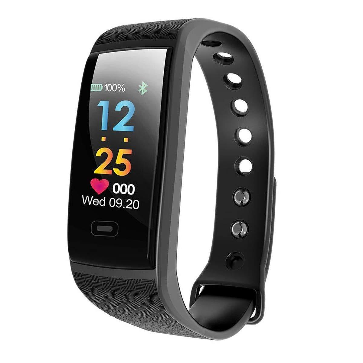 Muvit I/O Health Tensio - Pulsera de Actividad y sueño, Color Negro