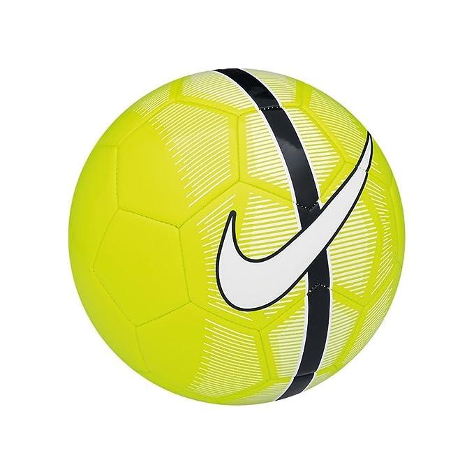 Nike Balón de fútbol Mercurial Fade, V./ Black/White, 3, SC2361 ...