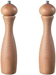 product image for Fletchers' Mill Marsala Collection Salt & Pepper Mill, Cherry - 12 Inch, Adjustable Coarseness Fine to Coarse, MADE IN U.S.A.