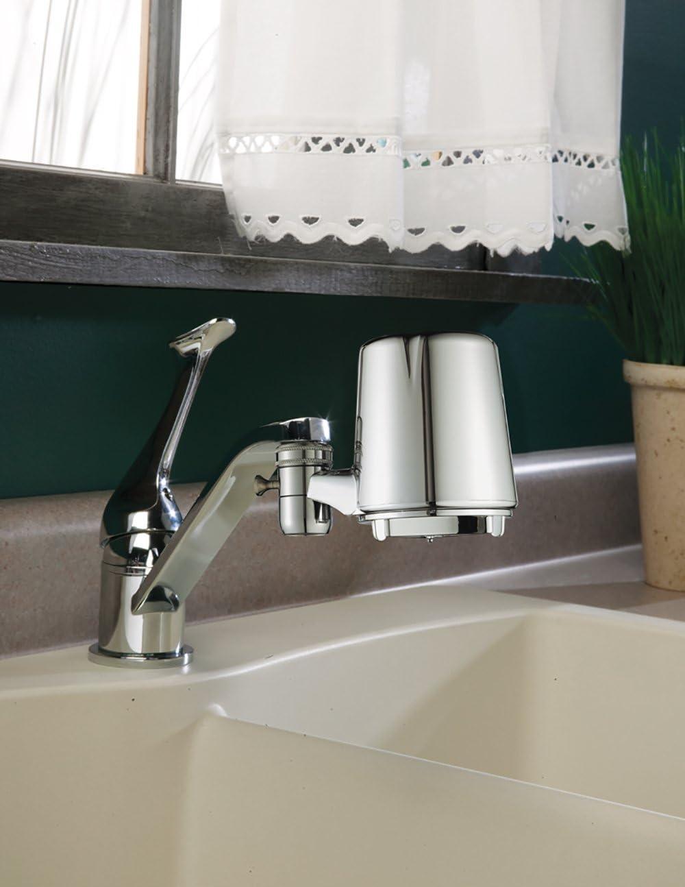 Culligan FM-25 Faucet Mount Filter- Installed
