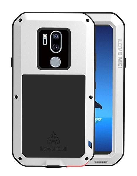 LOVE MEI - Carcasa para LG G7 ThinQ (Aluminio y Metal ...