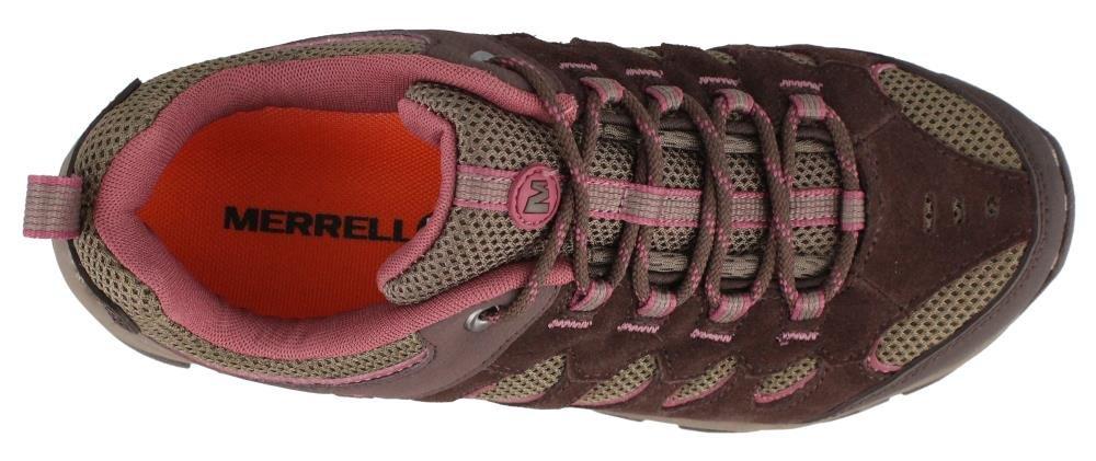 Merrell Women's, Ridgepass Hiking Shoes B00ZKVJ7LW 6.5 B(M) US Espresso/Blushing