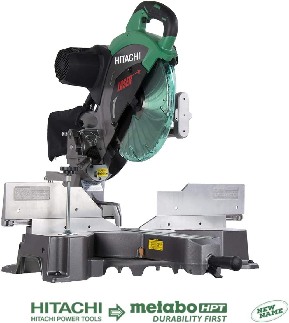 Hitachi 12-Inch Dual Bevel Sliding Compound Miter Saw
