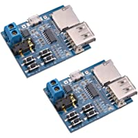 HiLetgo 2pcs TF Card U Disk Play MP3