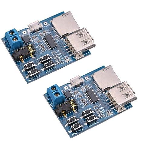 Hiletgo 2 Decoder Decode Power Amplifier Mp3 Player Mp3 Audio Module Mp3 Decoder Board Support Tf Card Usb Business Industry Science