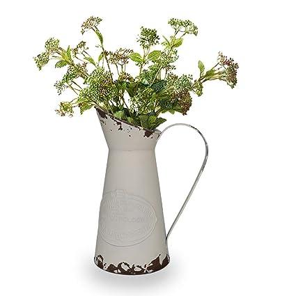 Amazon Yoillione French Pitcher Vase Vintage Pitcher Vase Metal