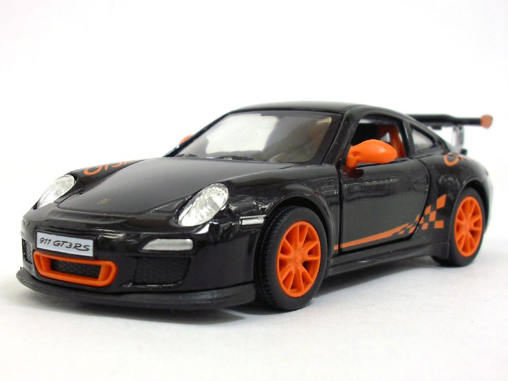 Porsche 911 GT3 RS 1 36 Sclae Diecast Model Car BLACK