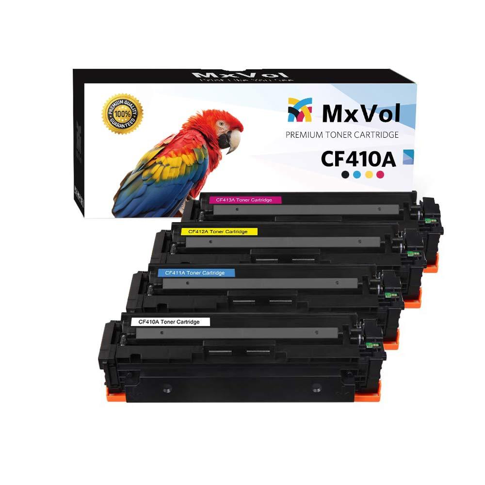 Toner Alternativo ( X4 ) 4 Colores 410a 410x Cf410a Cf411a Cf412a Cf413a Mfp M477 M452