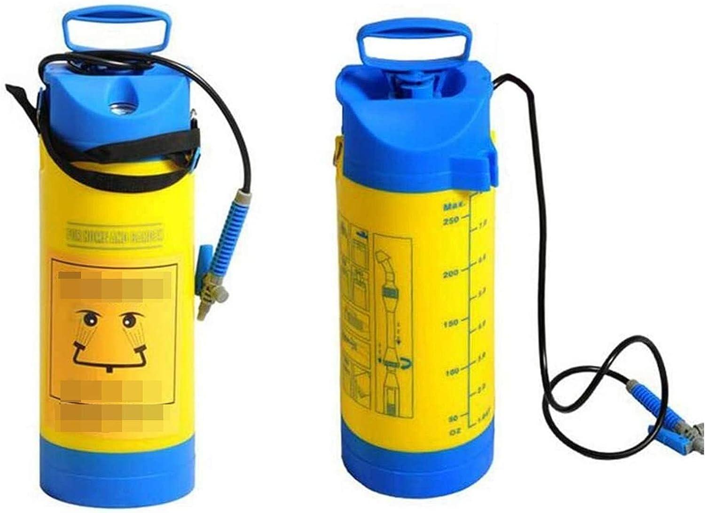 Capacidad Estación Lavaojos de boca del doble espesado móvil de emergencia con manómetro for el hospital, laboratorio, fábrica de productos químicos Etc 1128