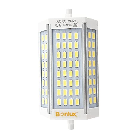 Bonlux Dimmable Led R7s Light Bulb Double Ended J118 Type 30w 120v Warm White 200w Halogen Replacement Bulb