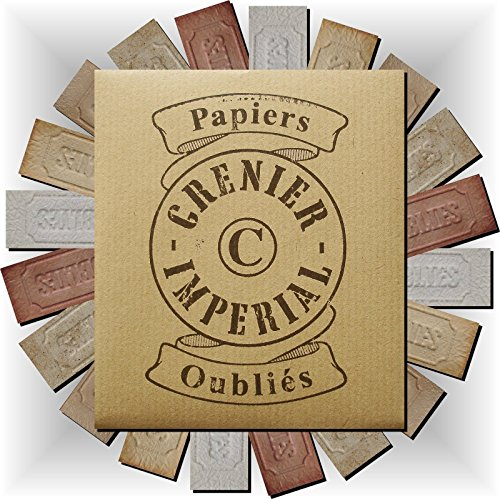 (Assortments 10 sorts Incense burning Papers vintage GRENIER IMPERIAL Papier perfume d'Arménie (Select Options from 10 to 100 burning paper) FRANCE (Delivery against Signature))