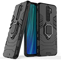ValueActive Redmi Note 8 Pro Back Case Cover for Xiaomi Redmi Note 8 Pro Covers and Cases Rugged Armor TPU + PC Hybrid Kickstand Back Case/Cover with Ring Holder Designed for Redmi Note 8 Pro