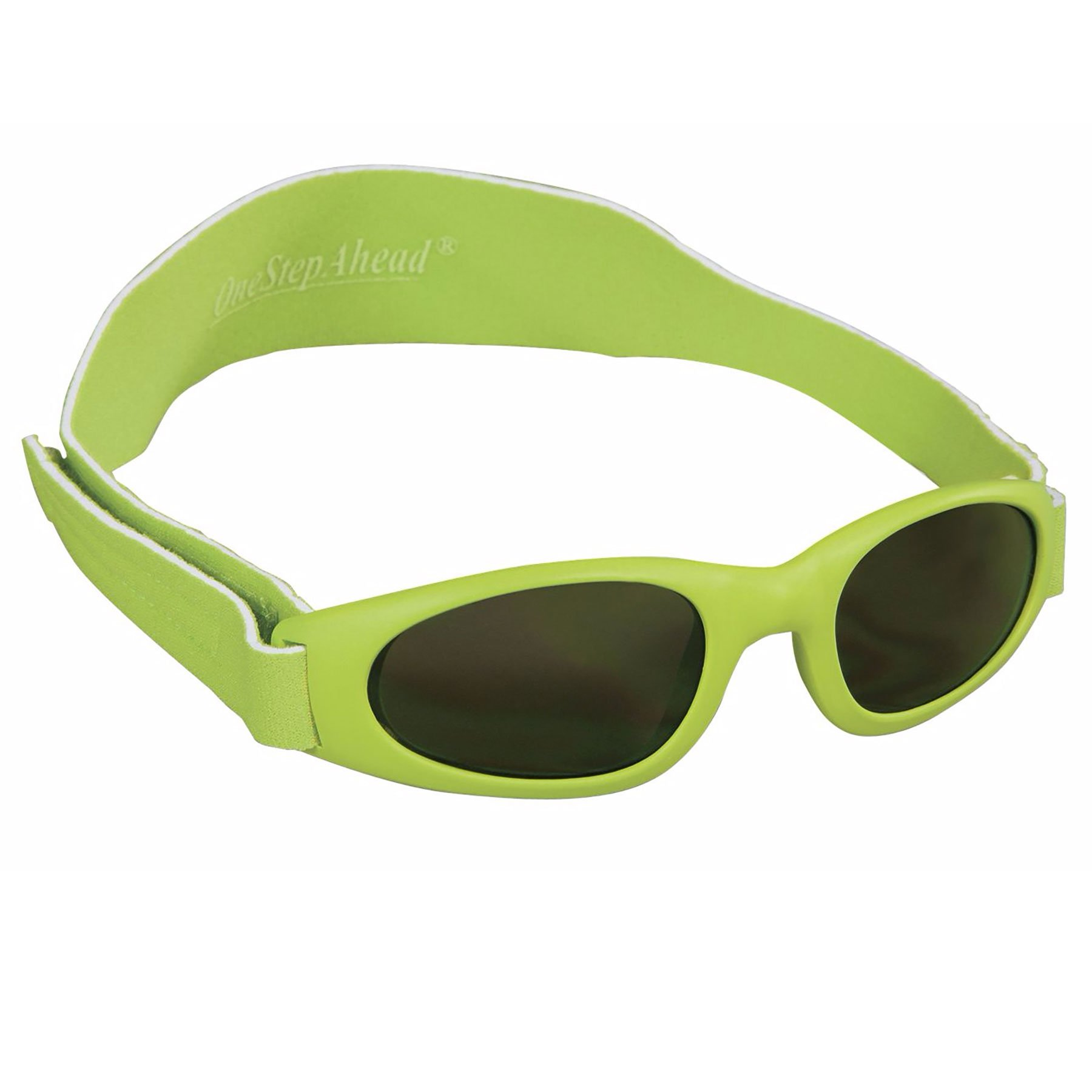 Green Wrap Sunglasses for Baby Boys and Girls Birth - 24 Months by Sun Smarties by One Step Ahead
