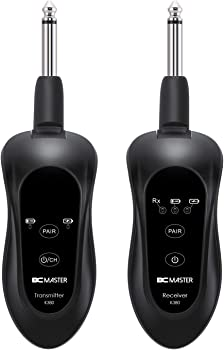 BCMASTER K380 10-Channels Rechargeable Wireless Guitar Transmitter