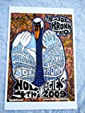 2009 11/4 The Joe Krown Trio Hippy Swan Concert Poster Autographed by Artist Baton Rouge