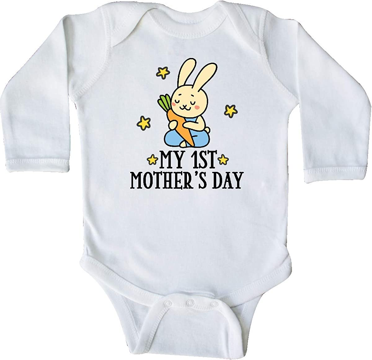 inktastic My 1st Mothers Day Outfit Boys Long Sleeve Creeper