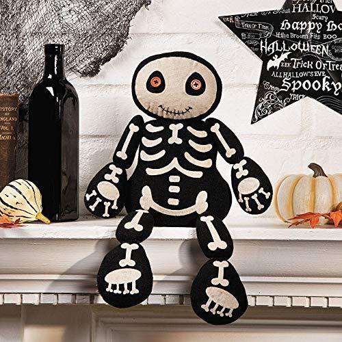 Plush Skeleton Shelf Sitter - Decorative Accessories]()