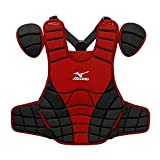 Mizuno Samurai G3 15-Inch Chest Protector (Red/Black)