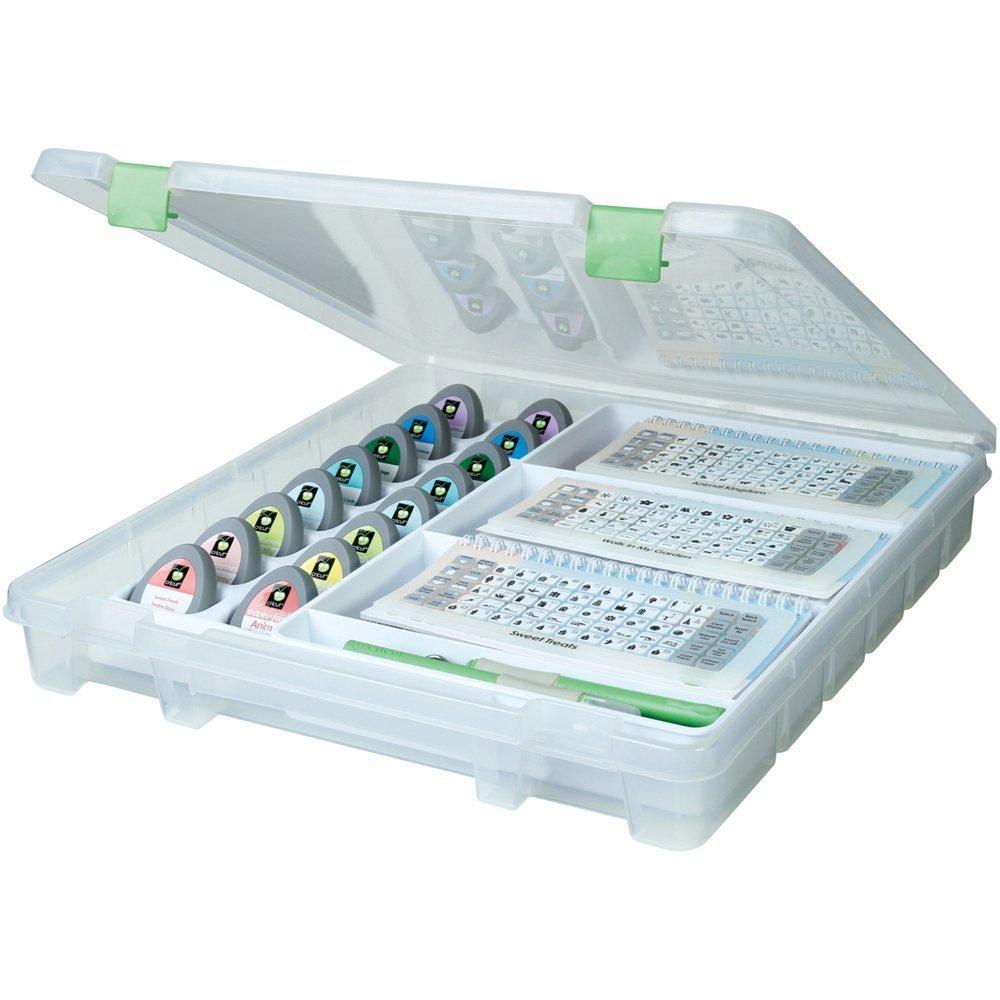 ArtBinスーパーサッチェルカートリッジ&ツールストレージ 2 Pack B06XT3KHN72 Pack