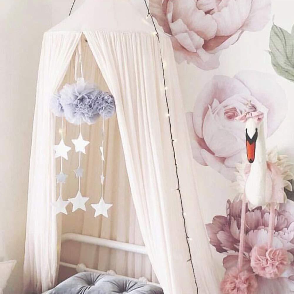 rund Insektenbetthimmel Kuppel-Bettw/äsche f/ür Familie und Reisen Vorhang schnelle einfache Installation elegante Spitze feinste L/öcher Netz FeiyanfyQ Luxus-Moskitonetz