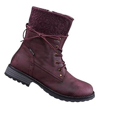cb2c60d0b68fa7 Lico Winterstiefel rot 28 Reißverschluss wasserdicht warm Winterschuh  Comfortex