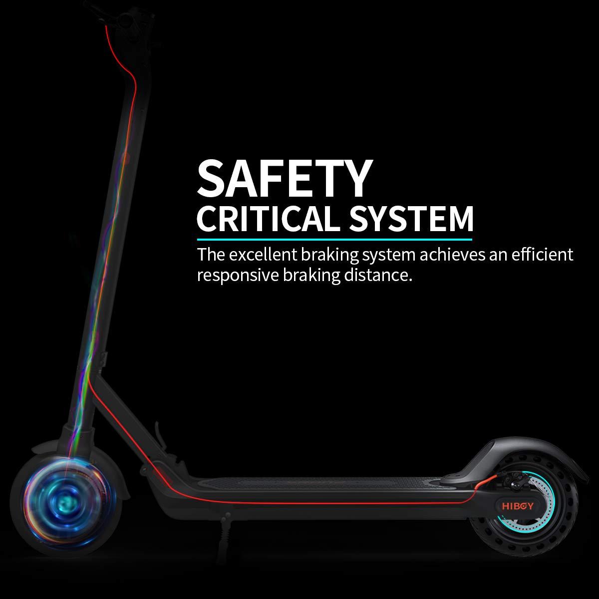 Amazon.com: Hiboy MAX Scooter eléctrico – Motor de 350 W 8.5 ...