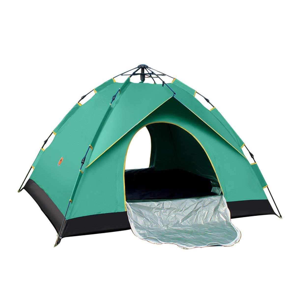 Timirror Desert Camel Automatikzelt einlagig wasserdicht Anti UV Shelter Outdoor Camping Wandern Zelt Familie 4 Personen Zelt