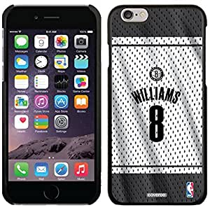 Deron Williams - Home Jersey Back design on Black iphone 4 4s Microshell Snap-On Case