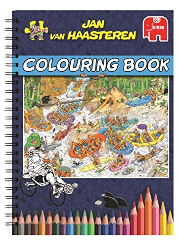 Jan Van Haasteren - Colouring Book
