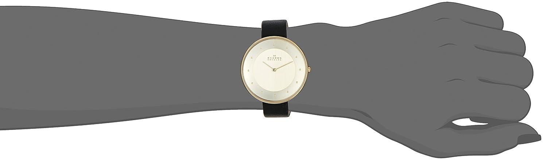 Skagen damen armbanduhr analog quarz edelstahl skw2140