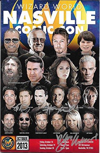 (Henry Winkler Ray Park Sara Jean Underwood Signed 2013 Comic Con Program - PSA/DNA Certified)