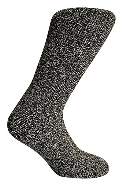 3 pares grosor de calcetines térmicos para hombre multicolor 39: Amazon.es: Ropa y accesorios