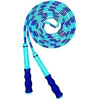 AlfaView Zacht kralen springtouw, verstelbaar segment zonder knopen springtouw voor kinderen Volwassenen Fitness…