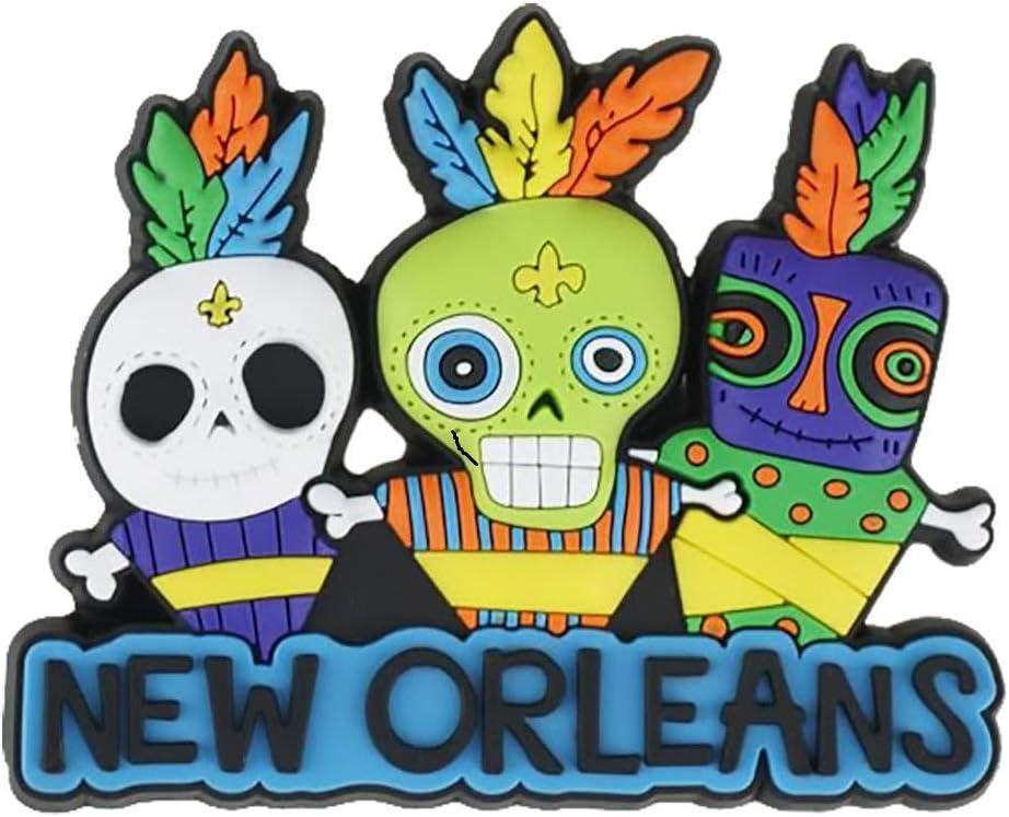 New Orleans Voodoo Doll Souvenir Refrigerator Magnet