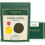 VAHDAM, Green Tea Leaves from Himalayas (50 Cups), 100% Natural Tea, Powerful Anti-OXIDANTS, Brew Hot Tea, Iced Tea or…