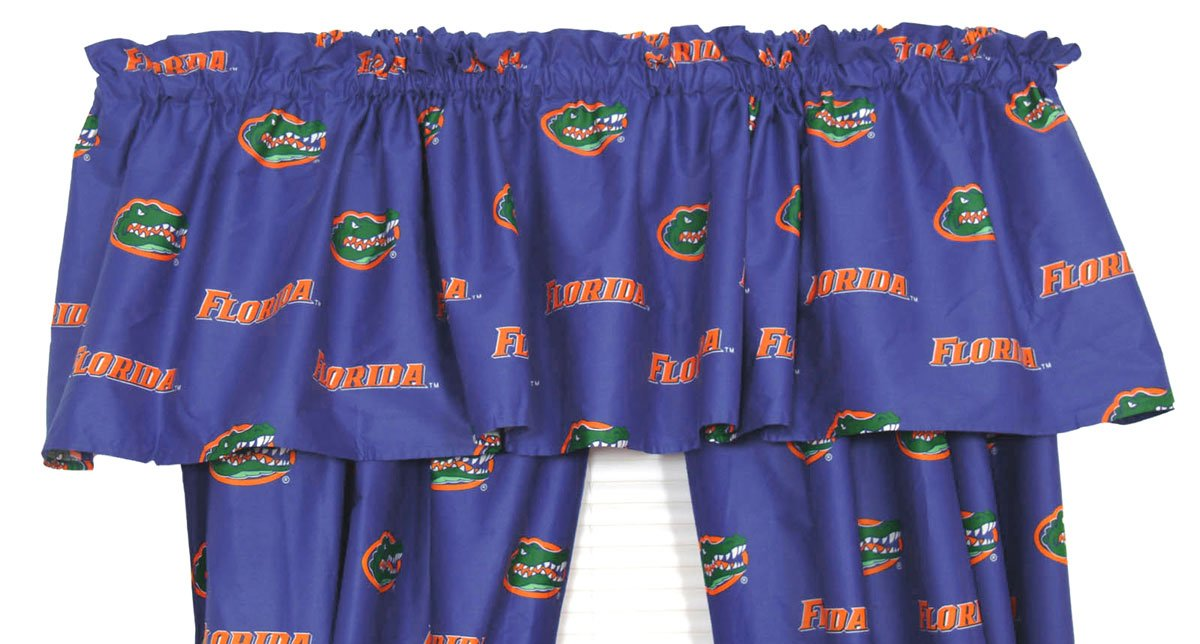 College Covers Florida Printed Curtain Valance